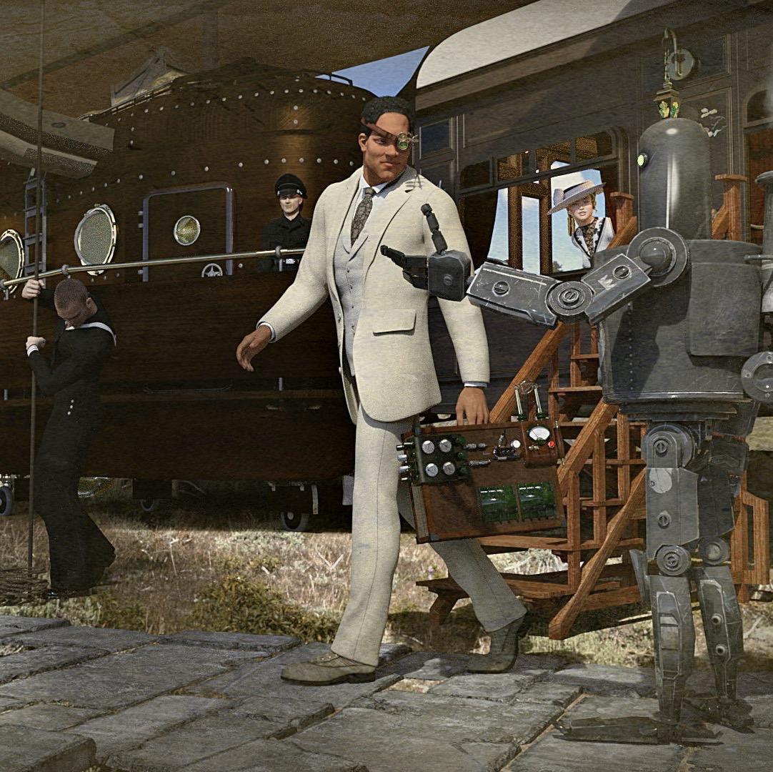 brasiliana-steampunk-posters